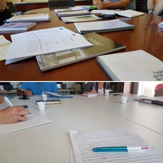 reunions jurats premis Roma Planas i La Miranda adults 2018